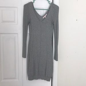 Victoria's Secret Gray Sweater Dress